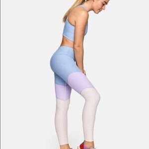 Outdoor Voices Tri-tone Springs Leggings (Lilac)